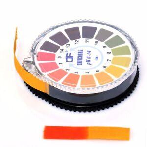 1Roll/5M14 PH Alkaline Acid Indicator Paper Water Urine Saliva Litmus Testing
