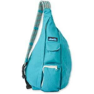 KAVU Women's Rope Bag Backpack Turquoise One Size