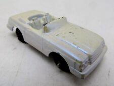 """Vintage Tootsietoy Mercedes 450 SL - 2.25"""" Long - White"""