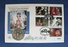 More details for 1993 royal mint £5 crown coin cover pnc