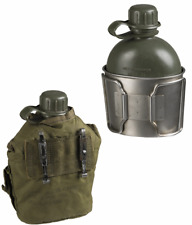US army surplus canteen cover, water bottle and mug