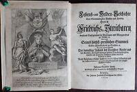 Horn -Lebens- und Helden-Geschichte Friedrich des Streitbaren 1733 - Sachsen -xz