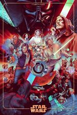 The Ways Of The Force Foil Variant - Ansin - Mondo Poster - Comic Con Star Wars