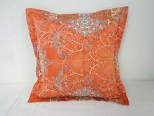 Funda de cojín Color principal Naranja para el dormitorio