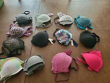 Lot Of 13 Victorias Secret Pink Sexy Bras 34A  Everyday Push Up