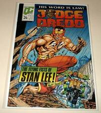 JUDGE DREDD # 26 Quality Comic 1988  FN.