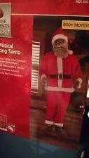 Life Size Animated Dancing African American Black Santa Claus