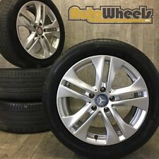 4 16 Genuine Mercedes C class alloy wheels complete with tyres W204