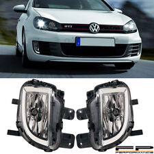 For 2010-2014 Volkswagen GTI MK6 Replacement Fog Light Housing Assembly Pair