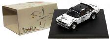 Trofeu 1412 Fiat 131 Abarth RAC Rally 1977 - S Lampinen 1/43 Scale