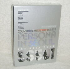 SS501 The 1st Asia Tour Persona in Seoul Taiwan Ltd 3-DVD+36P (Chinese-sub.)