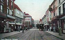 Cross Cheaping Coventry unused old postcard B&D Kromo