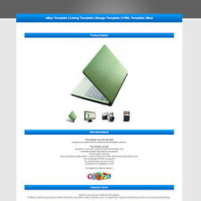 eBay Template | Listing Template | Design Template | HTML Template | Blue
