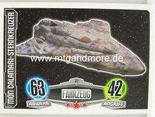 Force Attax Movie Card - Mon Calamari-Sternkreutzer #022