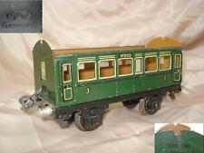 WWII ANTIQUE GERMAN TOY TRAIN PASSENGER COACH MARKLIN