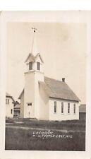 D14/ Turtle Lake Wisconsin Wi Postcard Real Photo RPPC c1910 U.B. Church