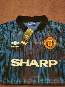 Retro Man Utd Shirt Large