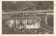 org. photo 6x9 cm modèle Chemin de fer dans le plein air parkanlage (g4104)