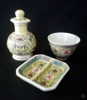 Late c20th Chinese Jingdezhen Pitcher Bowl And Divided Dish | FREE Delivery UK*
