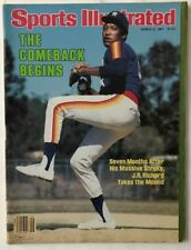 J.R. RICHARD March 2, 1981 Sports Illustrated Magazine  -  NO LABEL