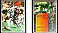 Eric Allen Signed 1994 Bowman #75 Card Philadelphia Eagles Auto Autograph