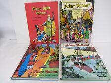 Prince Valiant ~ Lot of 4 Volumes ~ Foster ~ Nostalgia Press  ~ 1974-1978