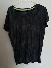 Nike Dri-fit Black And Gray Tshirt S/M