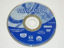 CHRYSLER DODGE JEEP NAVIGATION DVD DISC 05064033AB