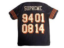 Supreme 2014 20th Anniversary Championship Jersey Shirt Blue Rare Vintage