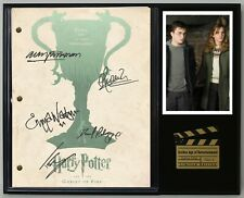 """Harry Potter Goblet of Fire Reproduction Signature Script Display """"C3"""""""