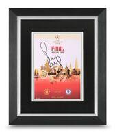 Paul Scholes Signed 10x8 Framed Photo Display Man Utd Autograph Memorabilia COA