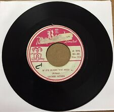"Laurel Aitken - ""If It's Money You Need"" / ""Jeannie Is Back"" 7"" RG-001"