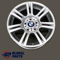 """BMW 3 Series E90 E91 E92 Silver Wheel Alloy Rim 17"""" ET:34 8J M Double Spoke 194"""