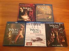 Wrong Turn 5-Film Horror Blu-ray Lot Collection 1 2 3 4 5