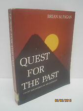 Quest for the Past by Brian M. Fagan