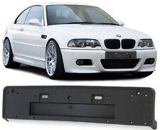 NUMBER PLATE BRACKET HOLDER FOR SPORT M3 FRONT BUMPER FOR BMW E46 3 SERIES