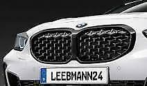 Black Kidney Grille Genuine BMW F40 1 Series M135i 118i  51138080490