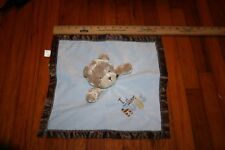 SECURITY BLANKET CARTER'S - CHILD OF MINE - BEAR - I LOVE HUGS - RATTLE TOY