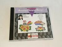 Brother Amazing Designs Susan Schmitz Collection II Emberoidery Card  BMC-SP2
