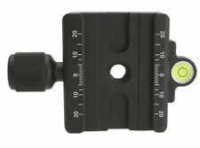 Desmond DAC 60 60mm QR Clamp 3 8 W 1 4 Adapter & Level Arca Swiss Compatible Tri