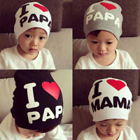 Cute Toddler Kids Baby Boy Girl Infant Soft Cotton Winter Warm Beanie Hat Cap