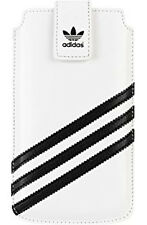 Original Adidas Universal White Black funda para iPhone 4&5 Galaxy S111 mini as