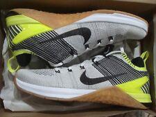 c8166b55ac4 Nike Metcon DSX Flyknit 2 Training Shoes White BLK Volt Men 11 924423-107
