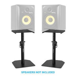 Studio Monitor Stand Set Adjustable Height Home HiFi Speaker Desktop Stands