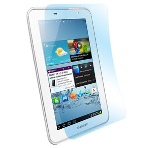 """6x Super Clear Screen Protector Samsung Tab 2 7 """" Clear Display Screen Protector"""