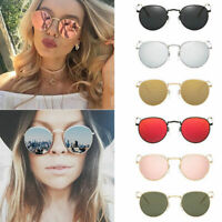 Fashion Sunglasses UV400 Flat Square Mirror Cat Eye Oversized Eyewear Women New