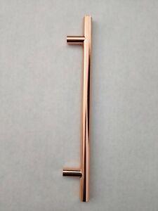 Cabinet Kitchen Pulls Handles T-bar Cupboard Drawer T Handle Rose Gold Copper