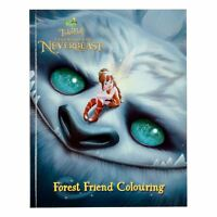 Disney Tinker Bell Legend Of The Neverbeast Forest Friend Colouring Book