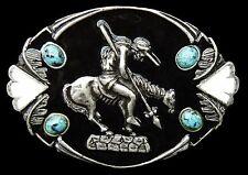 Boucle de Ceinture Horse Rider Belt Buckle Western Art Belts Buckles Sale