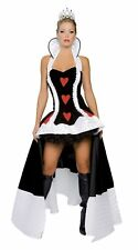 Adult Deluxe 3pc Enchanting Queen of Hearts Costume by Roma 4057